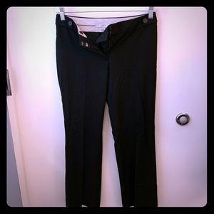Ann Taylor Loft Black pants, 2P, Julie fit